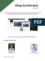 Accelerator Program Summary PDF
