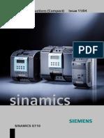 Sinamics G110 - Siemens