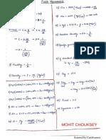 FM Formulae Sheet Part1@Mohit Chouksey