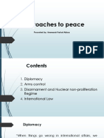 8.Approaches to Peace