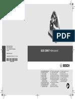 Amoladora Tronzadora Para Metal Bosch Gco 2000 Profesional Ref. 0601b17200 0