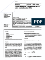 NBR 07353 MB 1589 - Solucoes Aquosas - Determinacao Do PH Com Eletrodos de Vidro