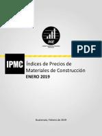 Informe Mensual Sobre IPMC
