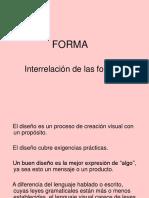 FORMA. Interrelacion de Las Formas