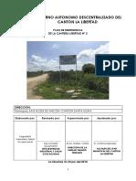 Plan Emergencia Cantera Libertad 2 2018