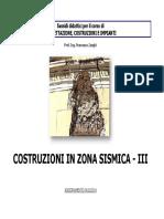 - Costruzioni in Zona Sismica 3