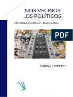 Frederic, Sabina - Buenos Vecinos, Malos Políticos