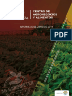 AG Barometer - Informe Mayo-Junio 2019