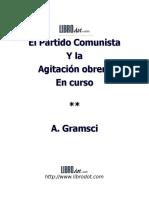 GRAMSCI ANTONIO - El Partido Comunista.DOC