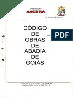 Código de Obras - Abadia
