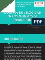 Control de Velocidad en Los Motores de Inducción