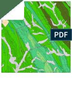 mapa Geologico de un sector de Recuay