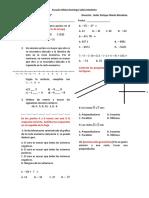 Matemáticas 7º