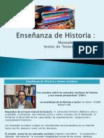 Enseñanza de Historia y textos.pptx