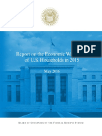 2015 Report on Economic Well Being of US Households