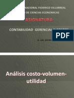 VOLUMEN-COSTO-UTILIDAD
