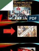 Cajas Municipales de Ahorro y Crédito EXPOSICION 1