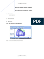 PRACTICA CALIFICADA Guía de Práctica N°6  torneado (fresado y taladrado