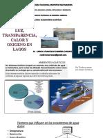 10. Luz, Transparencia , Calor en Lagos
