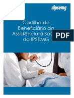 Cartilha Do Beneficiario Da Assistencia a Saude Do Ipsemg 09 07