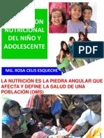 Evaluacion Nutricional Del Niño y Adolescente 2016