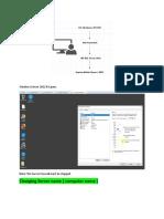 1- Install Net Framework, MS SQL & Sophos Mobile Server ( on-premise )