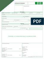 Formato 010 8 Solicitud Devolucion Compensacion