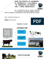Diapositivas cerco eléctrico ganaderia