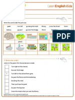 Poems the Way to the Park Worksheet