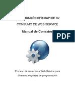 Manual ConsumoWebService