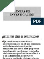 2. Lineas y Diseño de Investigacion