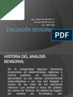 Historia Evaluación Sensorial