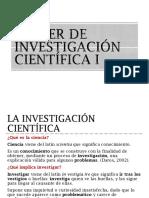 1. Taller de Investigación Científica i