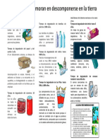 degradación de residuos solidos
