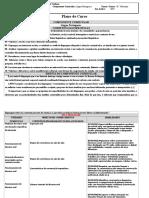 Plano de Curso Portugues 2019