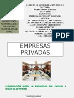 Exposicion de Derecho Societario
