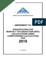 Spesifikasi Kaedah Pengiraan Berkomputer PCB 2019