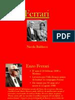 Ferrari presentazione