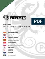 Manual Lampara Petromax HK500