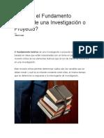 Qué es el Fundamento Teórico de una Investigación o Proyecto.docx