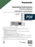 Manual Book Proyektor Aula Utama Panasonic PT-MZ670.pdf