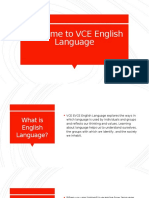 Welcome to VCE English Language 2018 Unit 1 Headstart