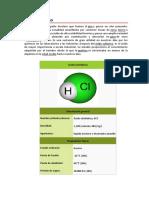 Ácido clorhídrico