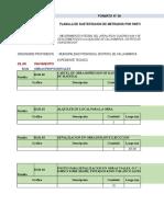 Planilla de Metrados Callanmarca Dra 4 y 5
