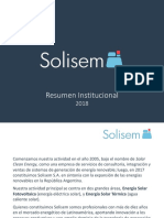 Solisem Institucional-2018
