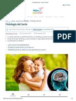 Fisiología Del Tacto — Mejor Con Salud