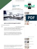 Artículo de Divulgación Científica_ Concepto y Estructura