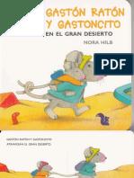 Hilb - Gaston Ratón y Gastoncito en El Gran Desierto