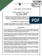 Decreto 1203 Del 12 de Julio de 2017