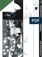 Lee Colortran 2kW Focusing Scoop Spec Sheet 1989